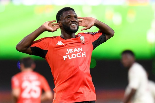 Match-Winner Moffi Relishes Lorient Victory Against Monaco