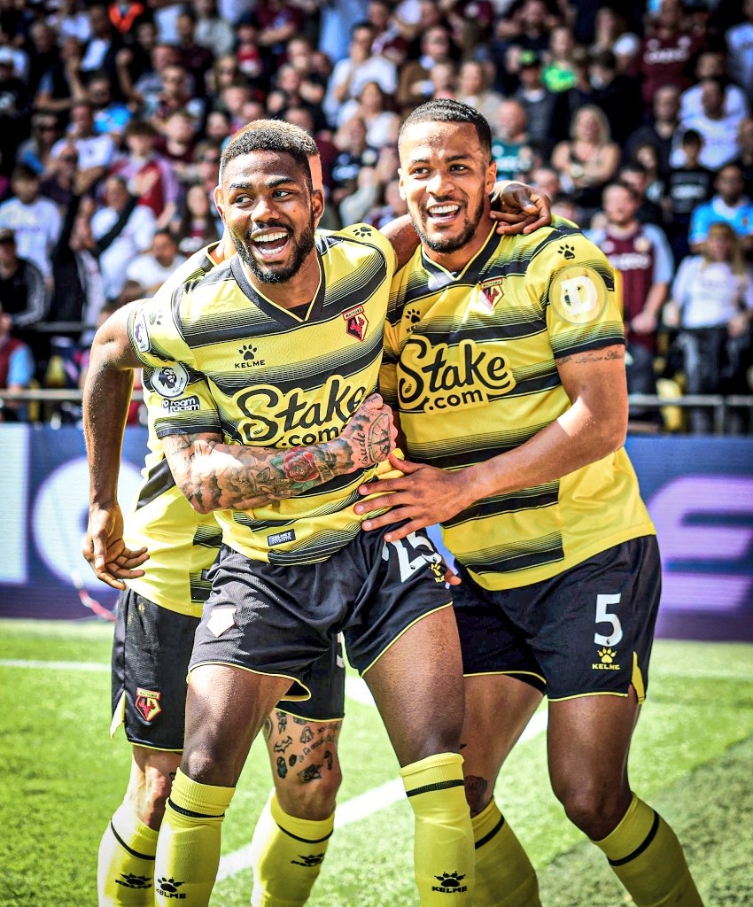 EPL: Dream Debut As Dennis Scores, Assist In Watford's Win vs Villa; Iwobi Also Bags Assist