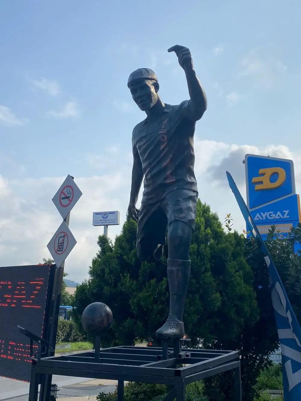 Nwakaeme's Statue Unveiled In Turkey