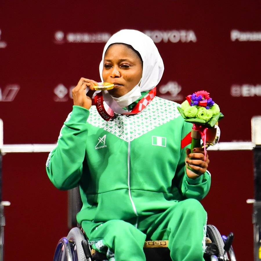 Tokyo 2020 Paralympics: Team Nigeria Wins First Medal As Tijani Claims Gold In Powerlifting