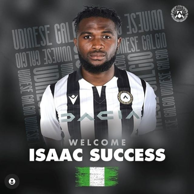 Done Deal: Isaac Success Seals Permanent Transfer To Watford