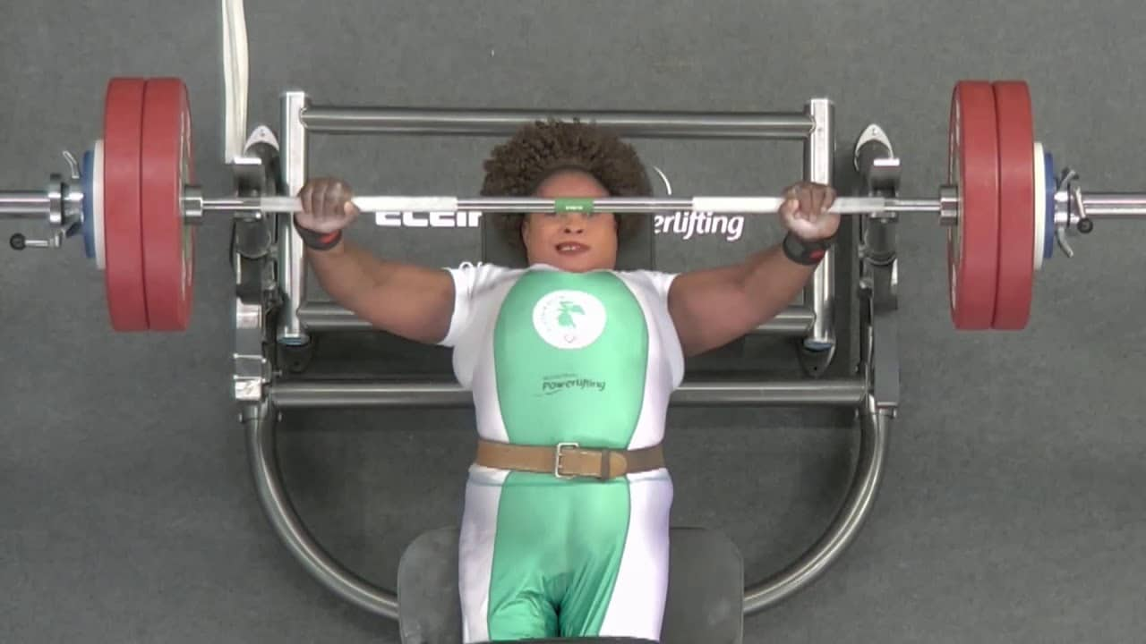 Nigeria's Omolayo Wins Gold After Setting New Paralympic Record In Powerlifting