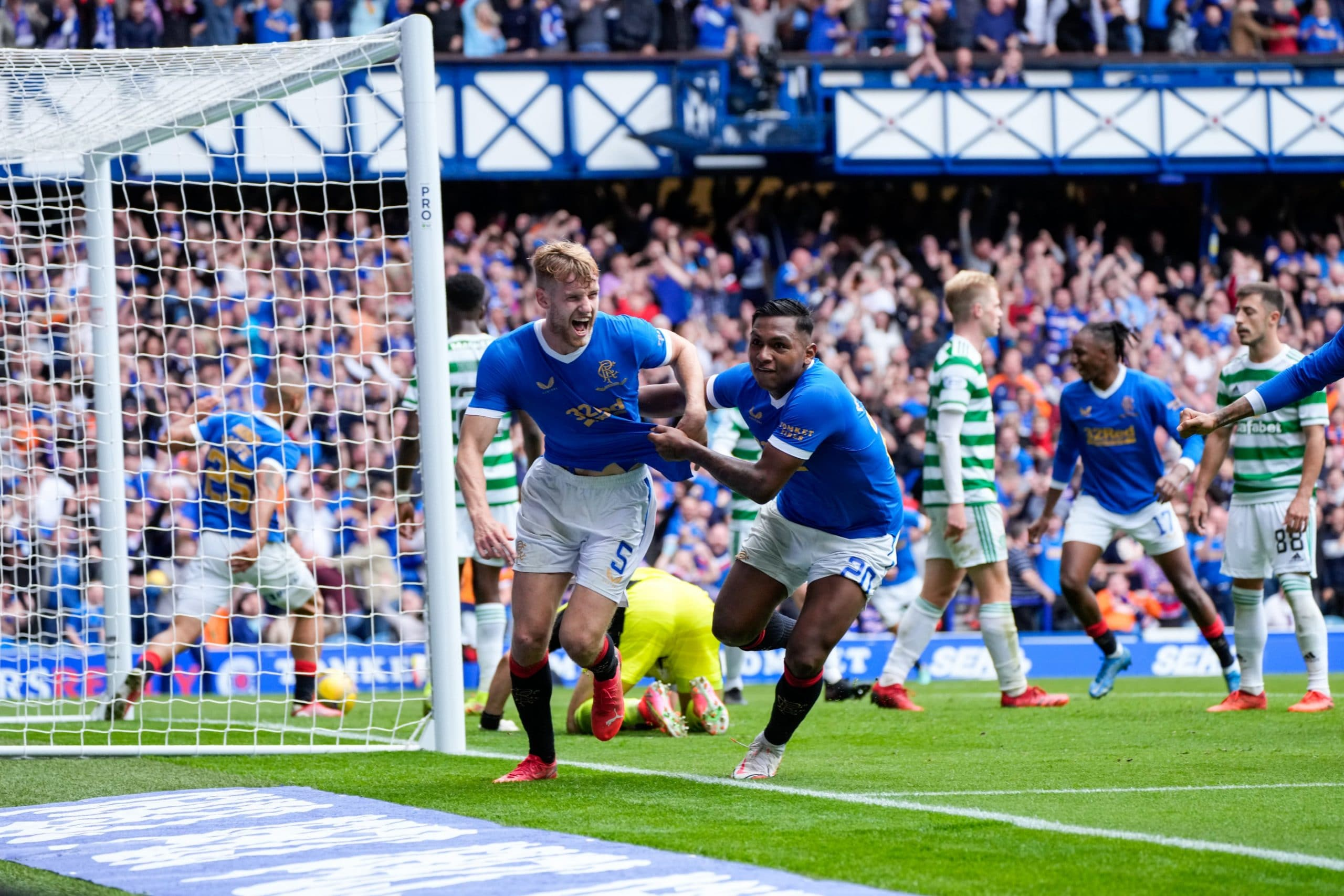 Scotland: Aribo, Balogun Star As  Depleted Rangers Beat Celtic In Old Firm Derby