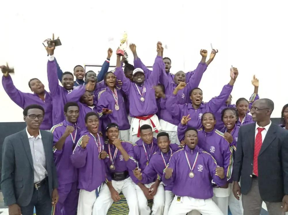 Uniben Wins The 3rd All-Nigerian University Open Karate Championship