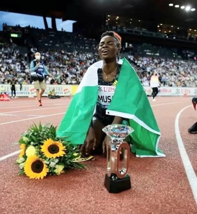 tobiloba-amusan-weltklasse-diamond-league-100m-hurdles-tonobock-okowa-sports-minister-sunday-dare