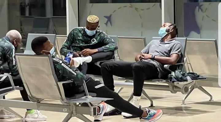 Super Eagles Arrive Cape Verde Ahead World Cup Qualifier