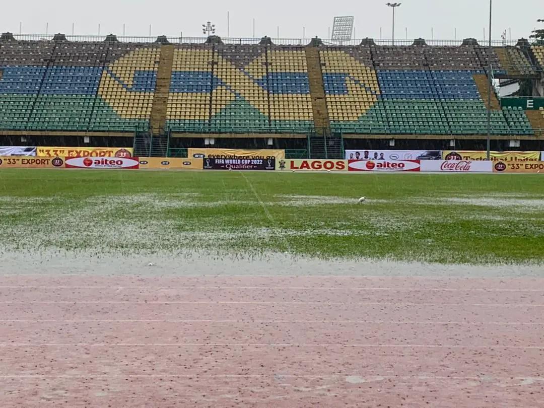 Nigerians Decry  Poor Condition Of Teslim Balogun Stadium During Super Eagles Vs Lone Star