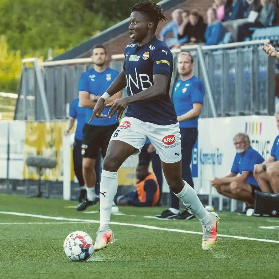 Stromsgodset Nigerian Midfield Star Ipalibo Eyes Super Eagles Call-Up