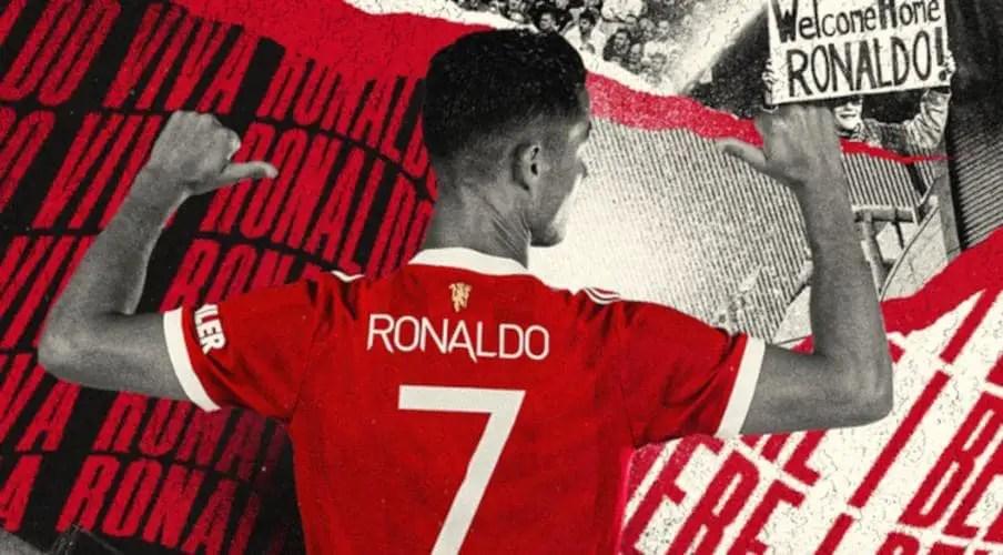 Cavani Surrenders Man United's Iconic No. 7 Shirt To Ronaldo