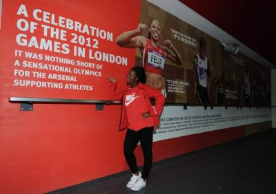 shelly-ann-fraser-pryce-arsenal-arsenal-ladies-track-and-field-100m
