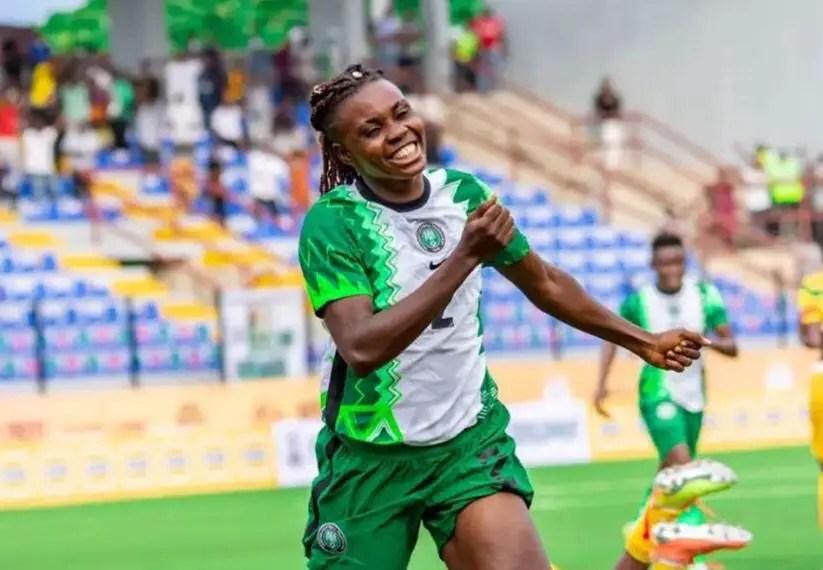 Aisha Buhari Cup: Monday's Late Brace Seals Win For Falcons Over Mali