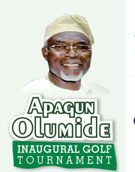 Abeokuta Club Host Apagun Olumide Inaugural Golf Tournament