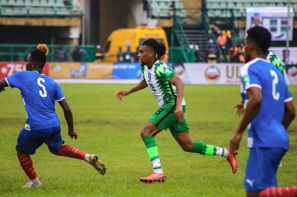 2022 WCQ: Everton Celebrate Iwobi's Performance In Super Eagles' Win Over Liberia