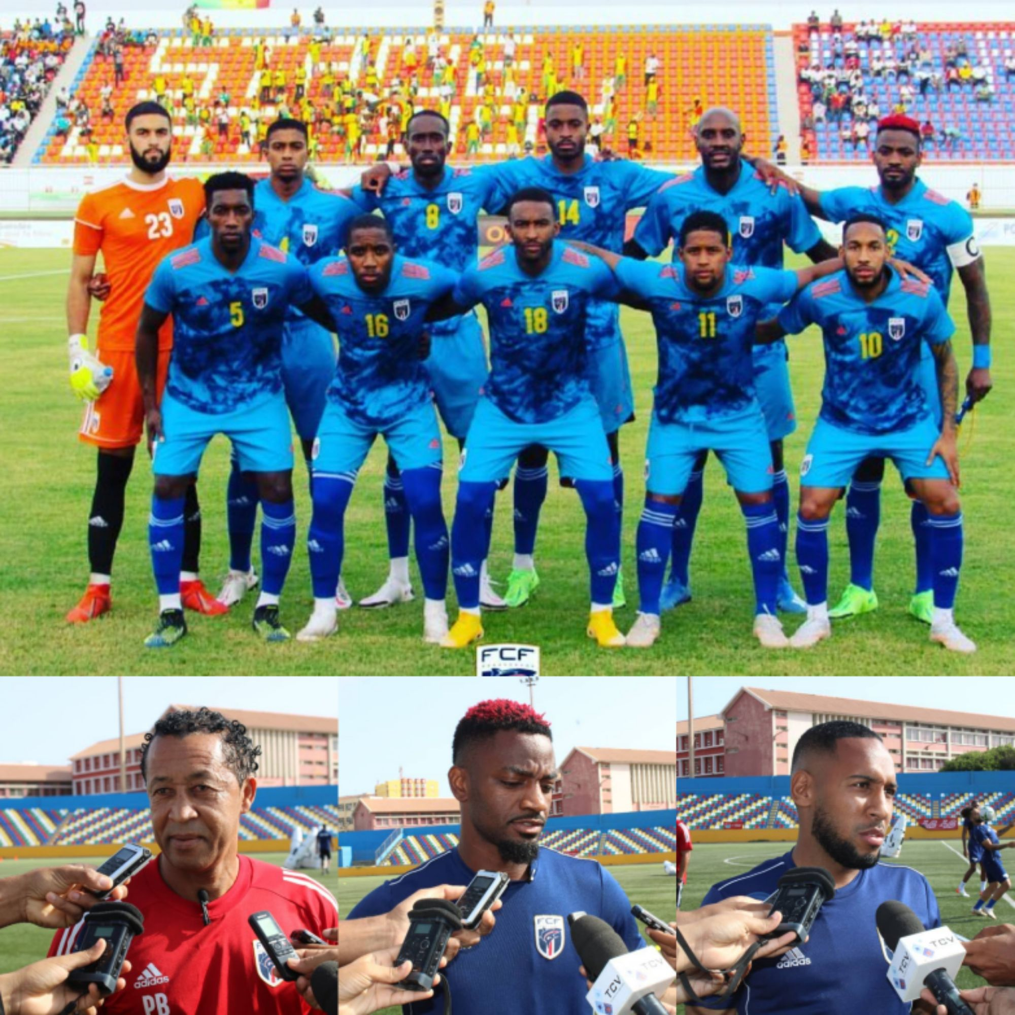 'We'll Fight Super Eagles With Victory Spirit' –Cape Verde Coach, Players Boast