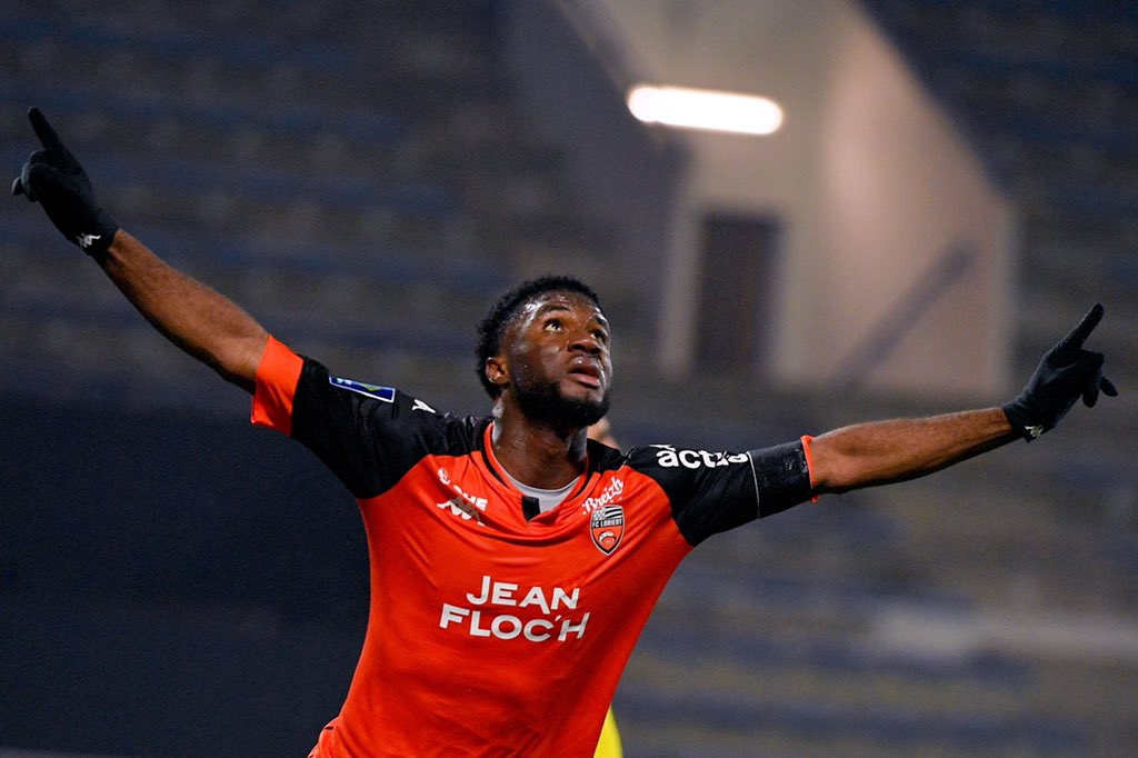 Ligue 1: Moffi Bags Assist, Nets Late Goal In Lorient's Home Win Over Lille