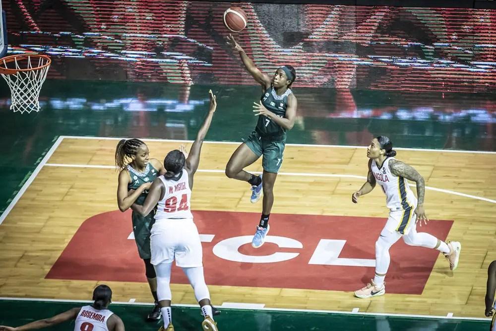 2021 Women's AfroBasket: D'Tigress Outclass Angola, Pick Q/finals Ticket