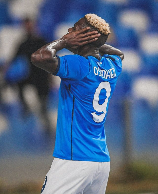 Osimhen Voted Serie A Player Of The Month