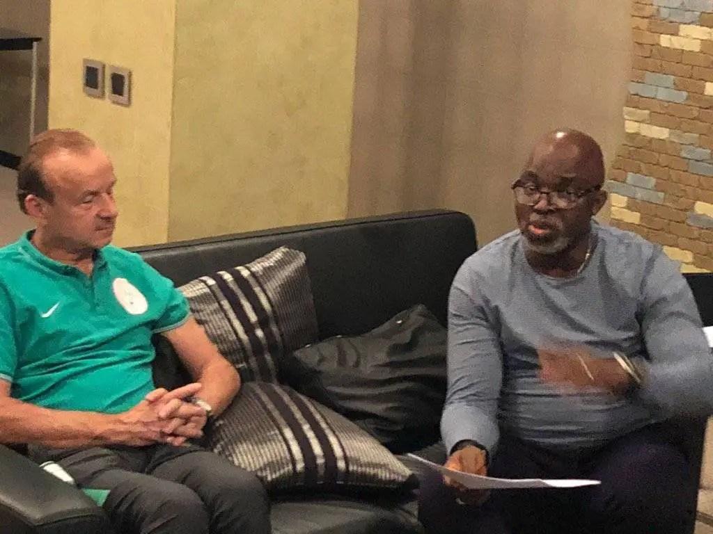 2022 WCQ: Beat Liberia, Get Your Bonus- Pinnick Tells Rohr, Super Eagles