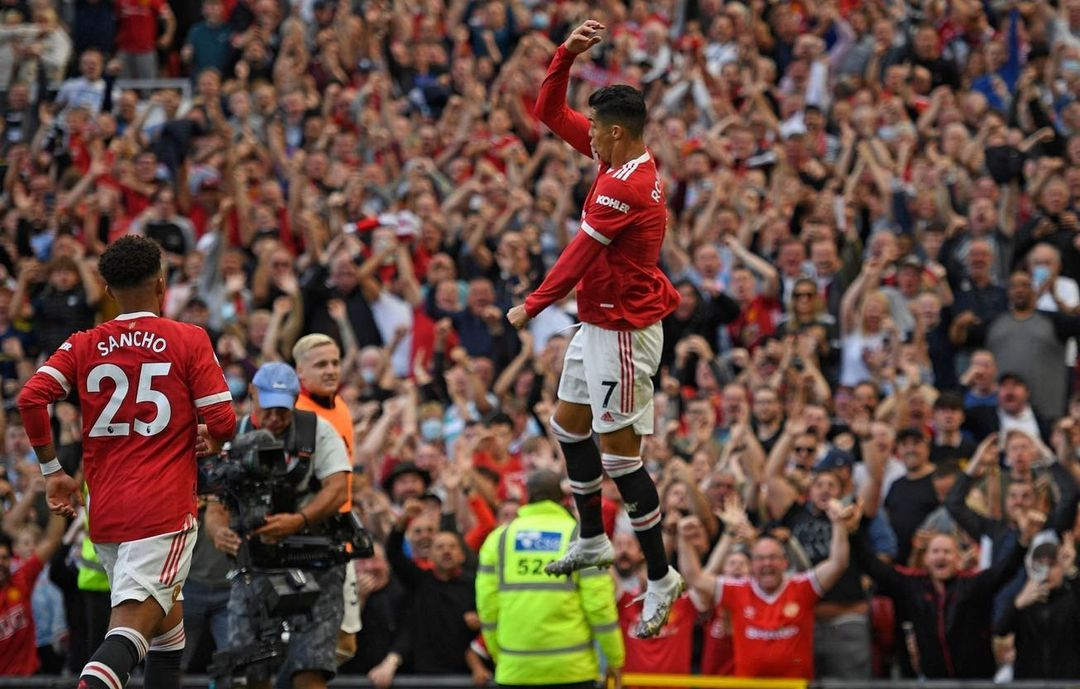 Ronaldo Thrilled To Resume Goal Scoring For Man United In 'Margical Theatre of Dreams'