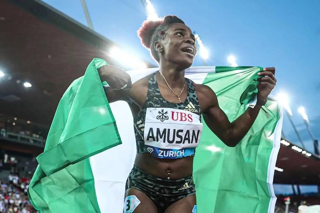 Amusan Wins, Sets New 100m Hurdles African Record At Weltklasse Diamond League