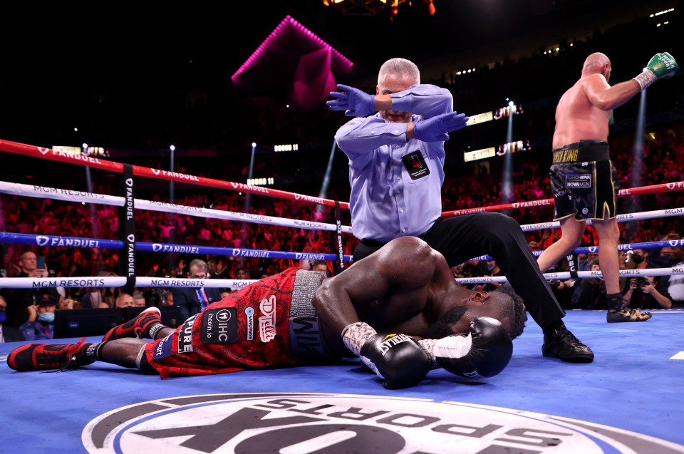 Wilder Taken To Hospital After Knockout Defeat To Fury