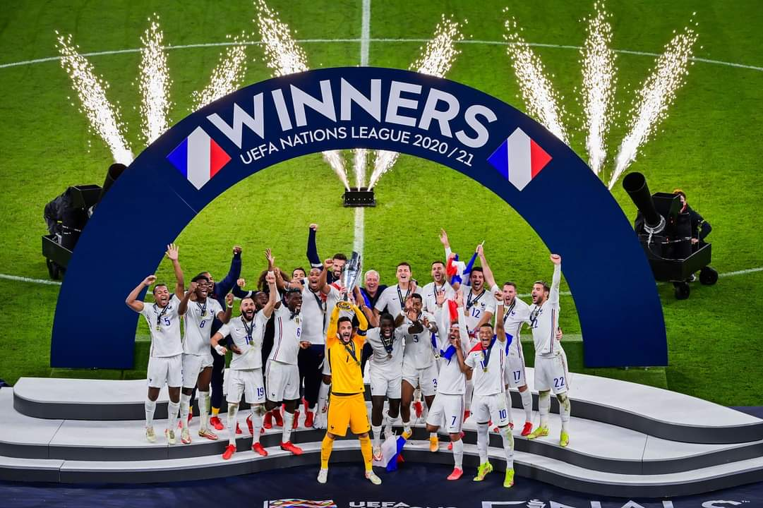 Pogba: France Players Wanted Nations League Trophy
