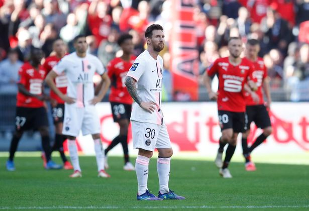 Messi Fires Blanks Again In Ligue 1 As Rennes End PSG's Unbeaten Run