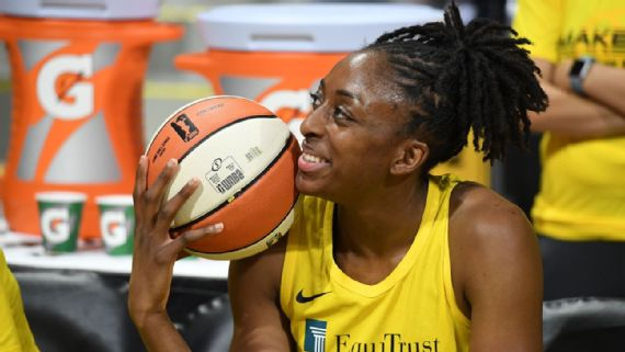 Los Angeles Sparks' Nneka Ogwumike Wins 2021 Kim Perrot Sportsmanship Award