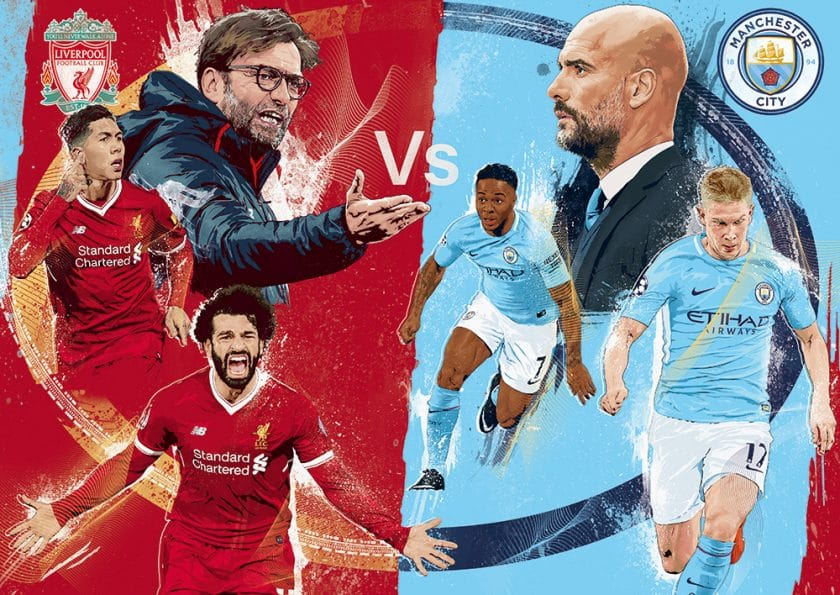 Liverpool, Man City Set For Titanic Clash At Anfield