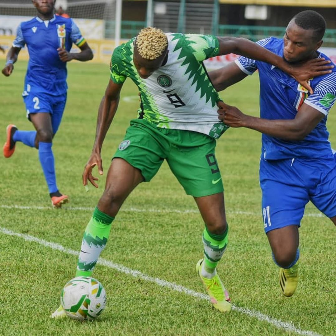 2022 WCQ: CAR's  Wild Beasts Shock Super Eagles With Win In Lagos