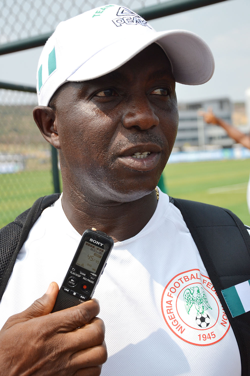 Siasia: Why We Chose Gambia For U-23 Eagles Camping
