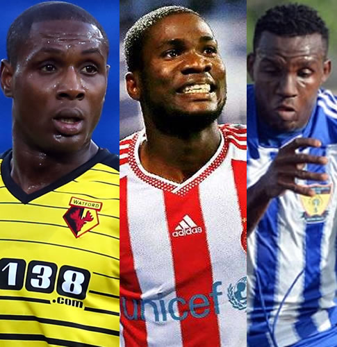 Ighalo, Ideye, Ajayi Up For Complete Sports November Player Of The Month