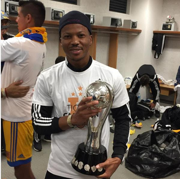 Ike Uche Celebrates Mexican League Title With Tigres