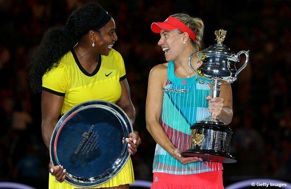 Kerber Dethrones Serena, Makes Aussie Open History