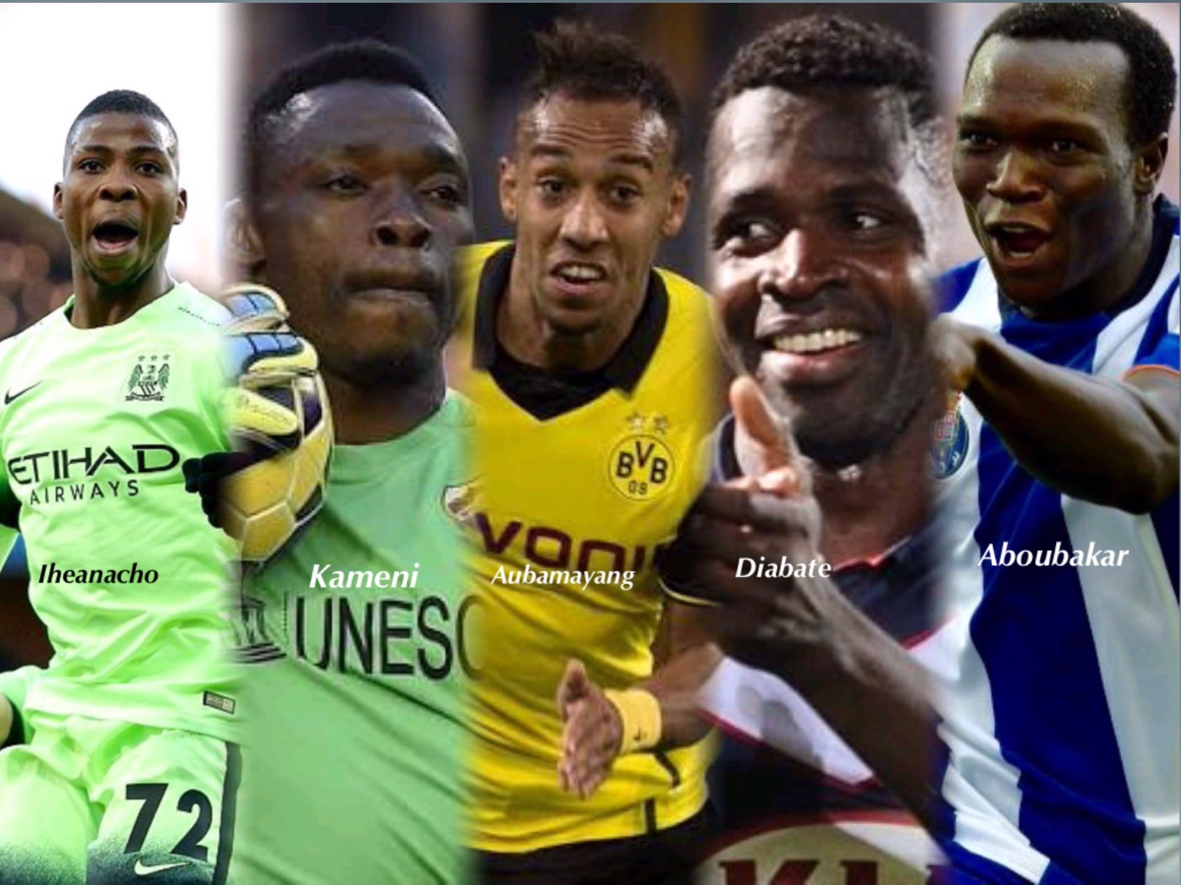African Team of the Week: Iheanacho Takes Pride Of A Place