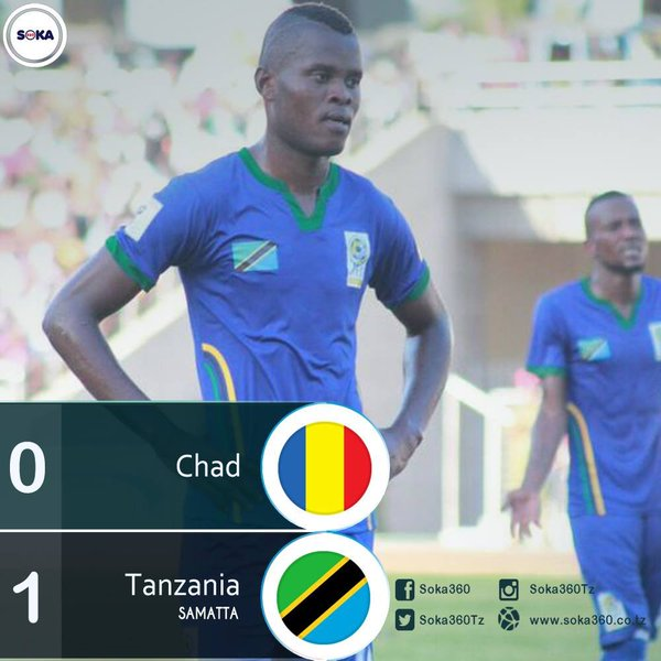 Tanzania Pip Chad, Secure First Group G Win