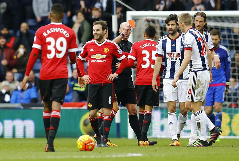 Van Gaal Laments United Loss To West Brom, Blasts Mata