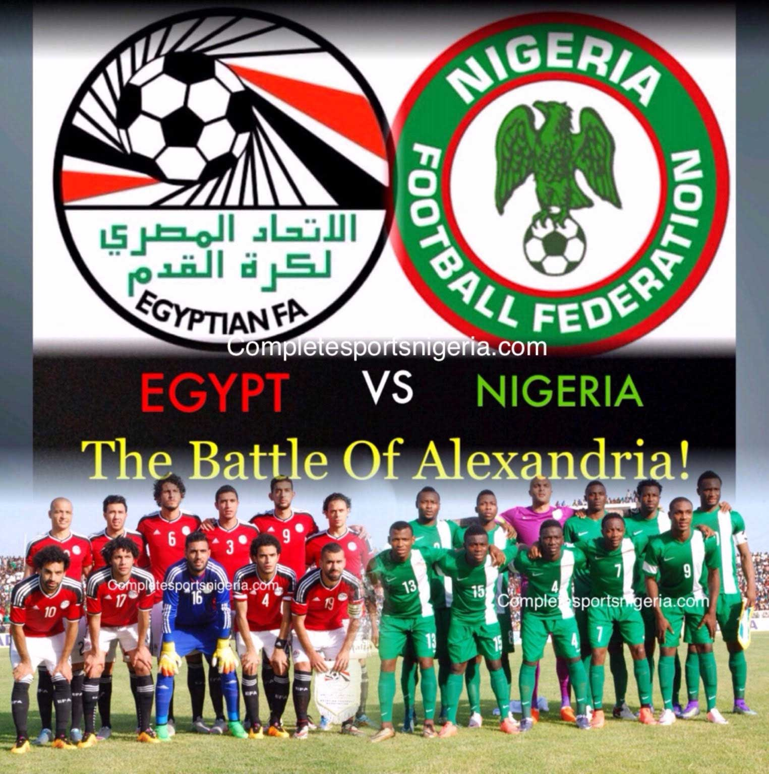 Egypt Vs Nigeria: Minute-By-Minute Live Blogging