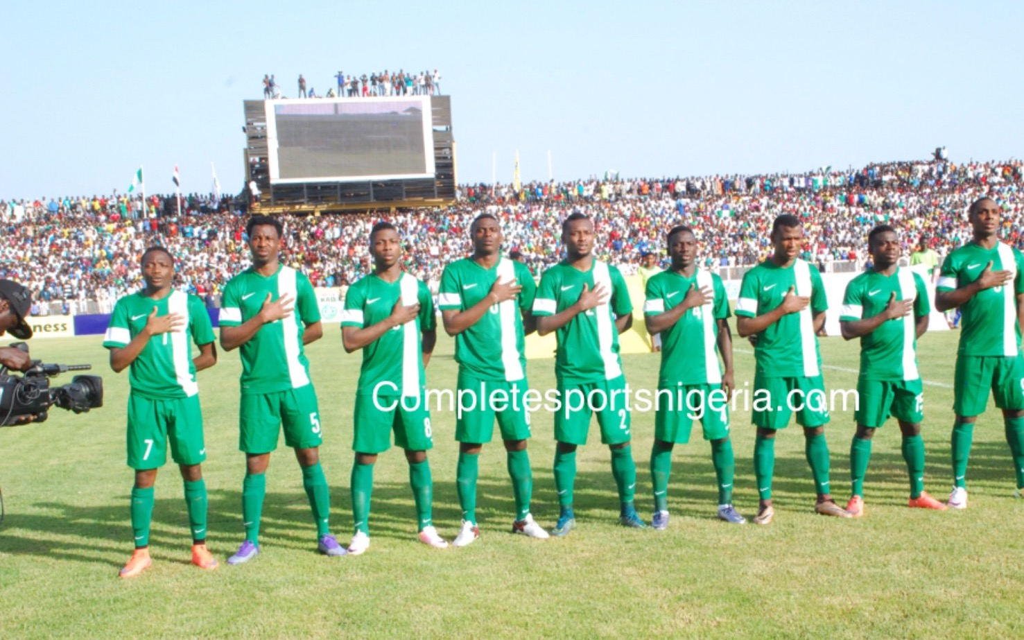 Ogu Confident Super Eagles Will Win Second Leg Against Egypt