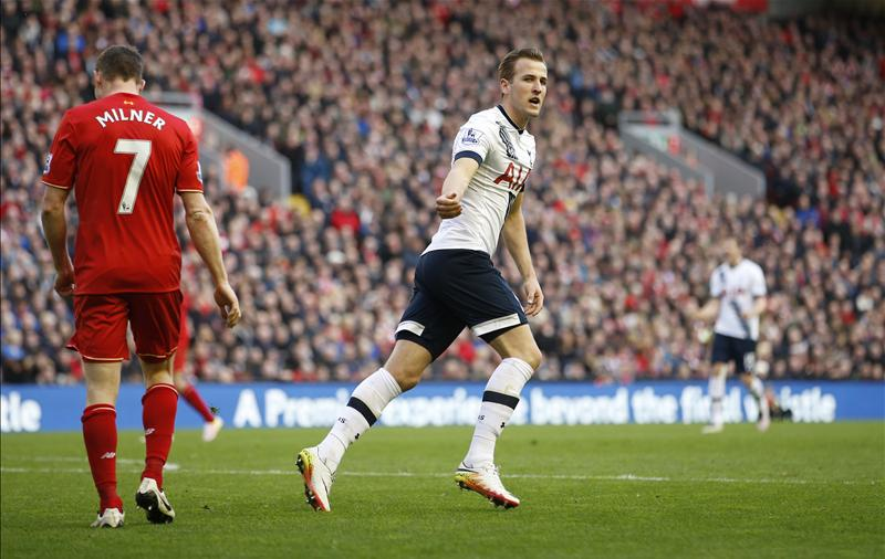 Kane Rescues Point For Spurs In Liverpool Draw
