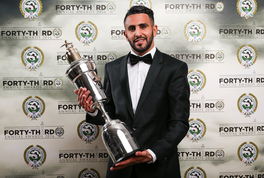 Kanu, Toure Hail Mahrez's PFA Award Win