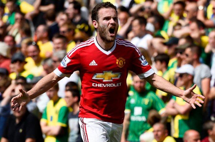 Mata Strikes As Man United Chase EPL Top 4 Finish