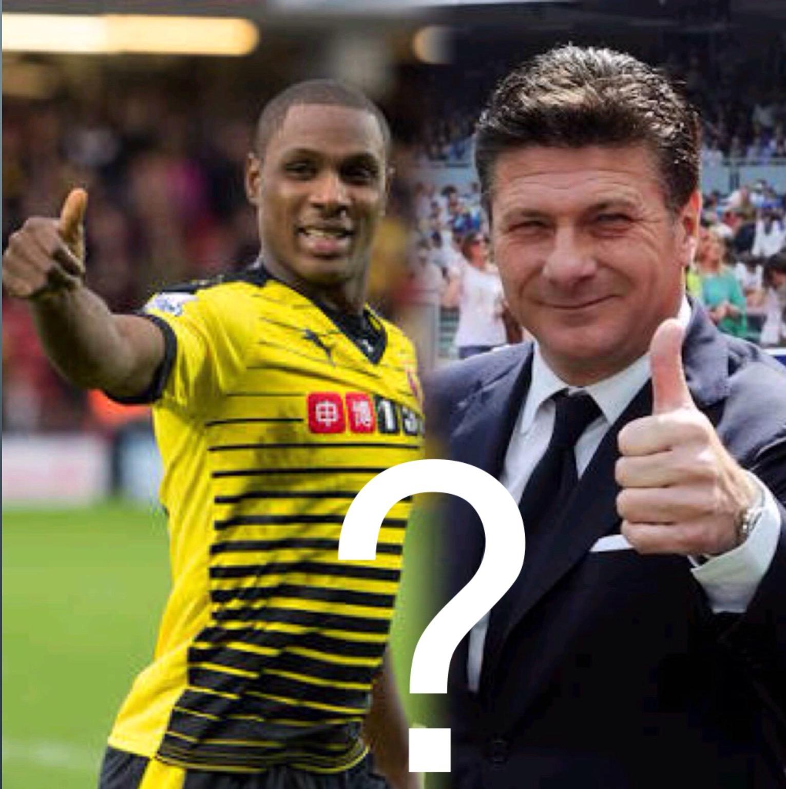 Ighalo To Get New Coach At Watford, Mazzarri On The Radar