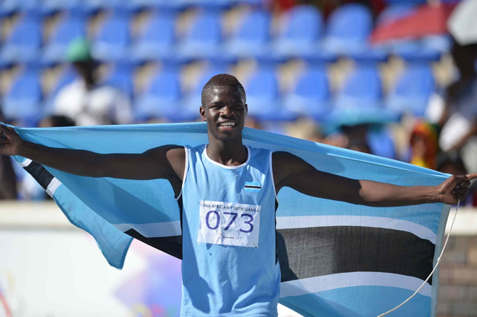 Athletics: Botswana Junior Sets Pace For Nigeria