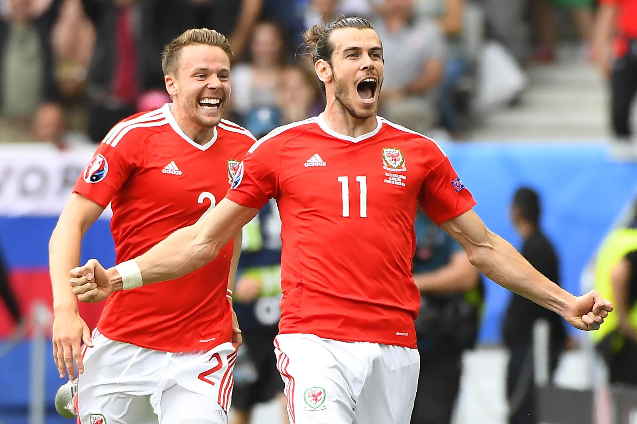 Euro 2016: Bale Scores As Wales Edge Slovakia