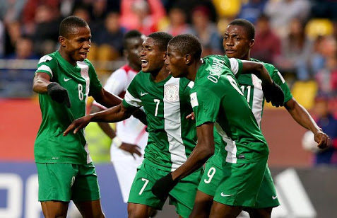 Osimhen Scores As Flying Eagles Trounce Amateurs In Friendly