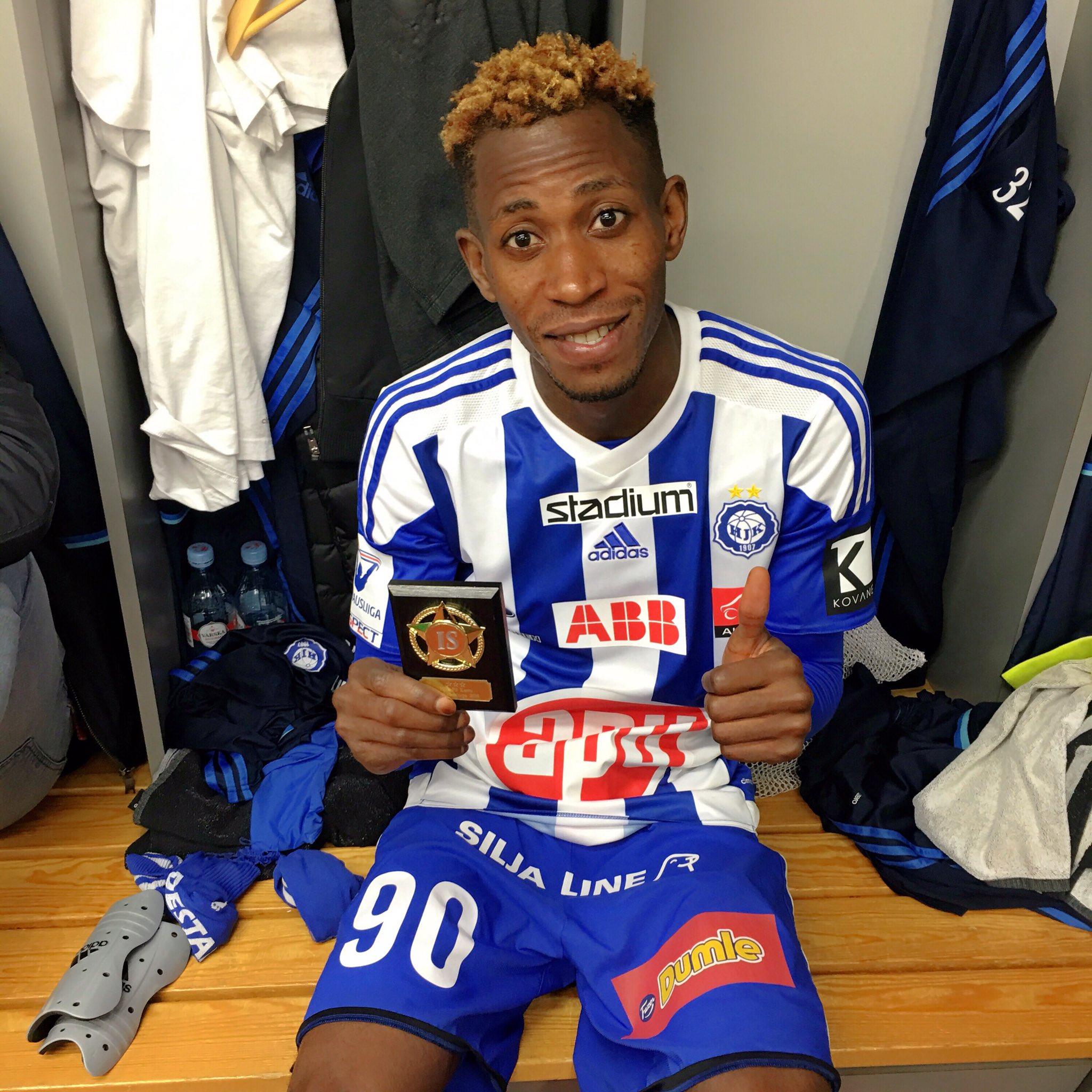 Oduamadi Eyes More Goals For HJK