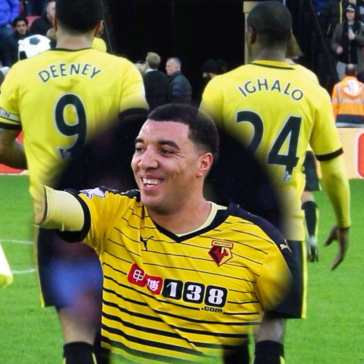Ighalo Strike Partner, Deeney Signs New 5-Year Watford Deal