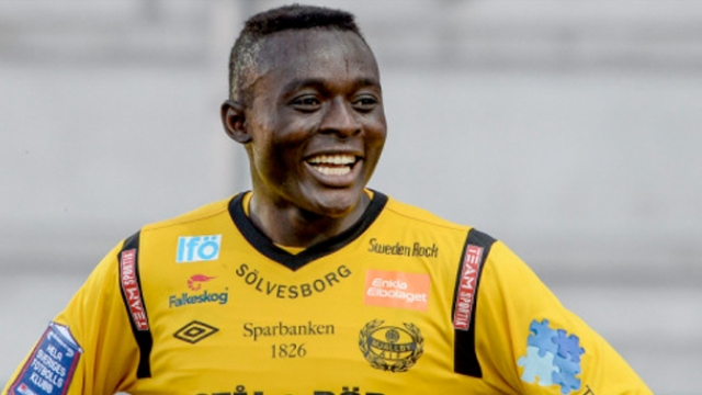 MLS Side Portland Timbers Sign Gbenga Arokoyo