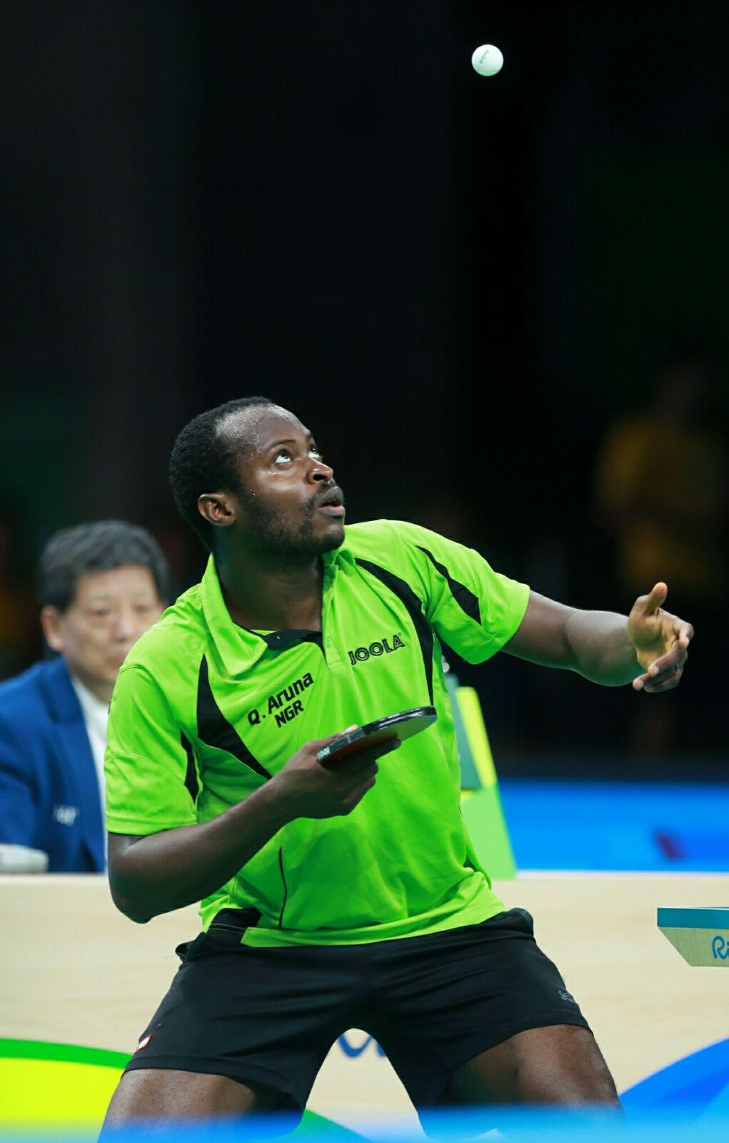 Table Tennis: ITTF Invites Quadri For 2016 Men's World Cup